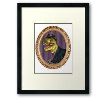 Terry the Tyrannosaurus Rex Framed Print