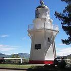 Lighthouse Akaroa  by sandysartstudio
