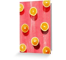 fruit 5 Greeting Card