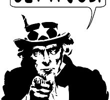 Uncle Sam Get A Job by Almdrs
