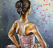 Pink Tutu by Rachelle Dyer
