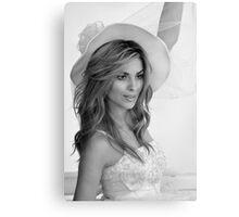 Elegant bride  Canvas Print