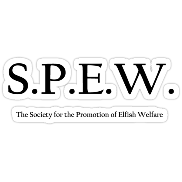 S.P.E.W. by Margaret Wickless