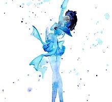 Mercury Watercolor by shaunarae