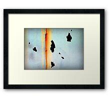 Reverse Sunrise Framed Print