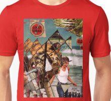The shores of captivity (lightning on my feet) Unisex T-Shirt