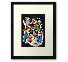 READY TO FIGHT?  Framed Print