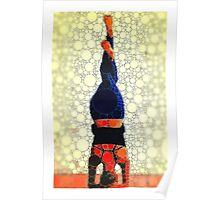 Yoga art 1 Poster
