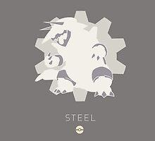 Pokemon Type - Steel by spyrome876