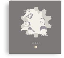 Pokemon Type - Steel Canvas Print