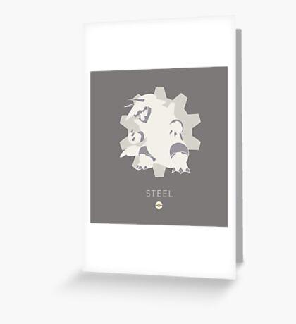 Pokemon Type - Steel Greeting Card