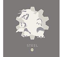 Pokemon Type - Steel Photographic Print