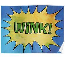 WINK! Poster
