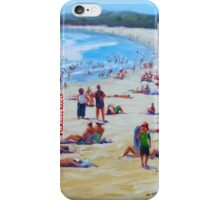 Beach Holiday by Diana Battle iPhone Case/Skin
