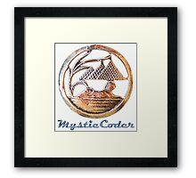 MysticCoder Logo &  Clear Amulet Framed Print