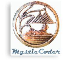 MysticCoder Logo &  Clear Amulet Canvas Print