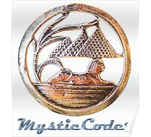 MysticCoder Logo &  Clear Amulet Poster