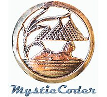 MysticCoder Logo &  Clear Amulet Photographic Print