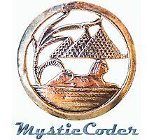 MysticCoder Logo &  Clear Amulet Photographic Print