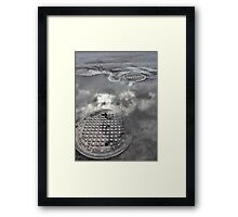 Clouds on the Ground Framed Print