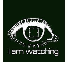 I am watching - WHITE -  POI Photographic Print