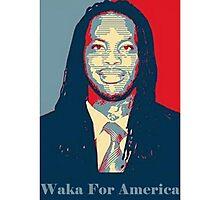 Waka Flocka For President ! Photographic Print