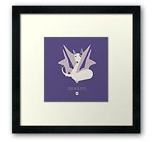Pokemon Type - Dragon Framed Print
