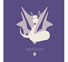 Pokemon Type - Dragon Photographic Print