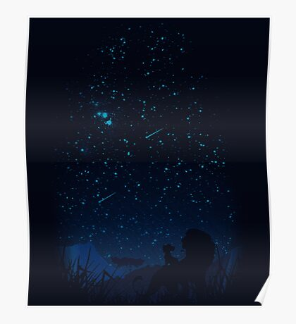 Looking at the stars Poster