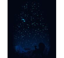 Looking at the stars Photographic Print