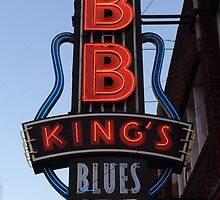 Neon Sign ~ BB Kings Blues Club by roadsidestills