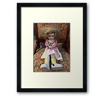 Porcelain Doll ~ Crazy Girl Framed Print