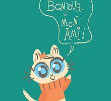 Bonjour Mon Ami by arondraws