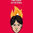 The Loof is on Fire - Himchan by theoneshots