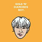 Gold 'n' Diamonds Boy - GD by theoneshots