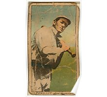 Benjamin K Edwards Collection Tennant San Francisco Team baseball card portrait Poster