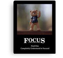 Life's Lesson 1a - Focus Canvas Print