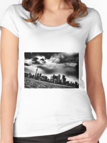 Toronto 3pm Wednesday Tshirt Women's Fitted Scoop T-Shirt
