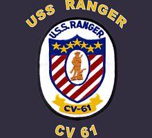 USS Ranger (CV/CVA-61) Crest for Dark Colors Classic T-Shirt