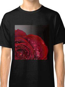 Red Rose macro 2 Classic T-Shirt