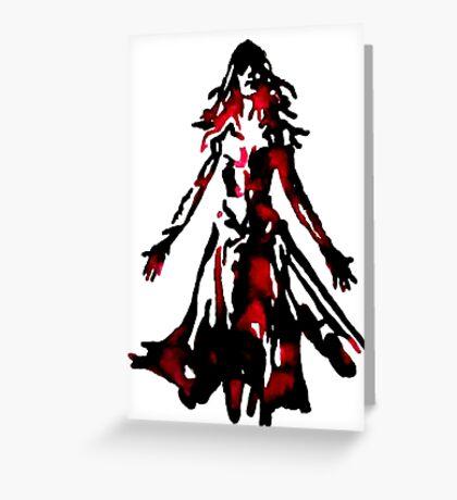 Jean Grey Greeting Card