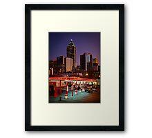 Atlanta Drive-In Framed Print