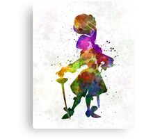 Captain Hook in watercolor Canvas Print