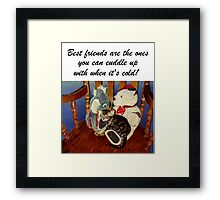 Rocking With Friends - Art Prints & Greeting Cards Framed Print