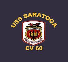 USS Saratoga (CV/CVA/CVB-60) Crest for Dark Colors T-Shirt