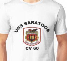 USS Saratoga (CV/CVA/CVB-60) Crest Unisex T-Shirt