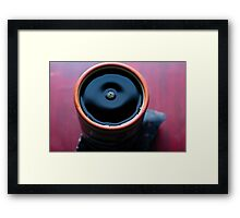 the coffee to keep you warm in the cold  Framed Print
