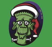 Christmas Frankenstein One Piece - Short Sleeve
