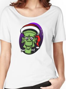 Christmas Frankenstein Women's Relaxed Fit T-Shirt