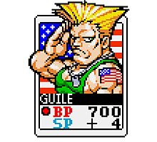 Guile - Street Fighter Photographic Print